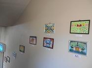 学習館文化祭に作品を展示しました!
