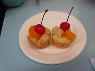[高]フルーツパイケーキをつくったよ