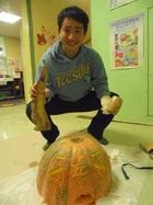 日常~かぼちゃ彫り!~